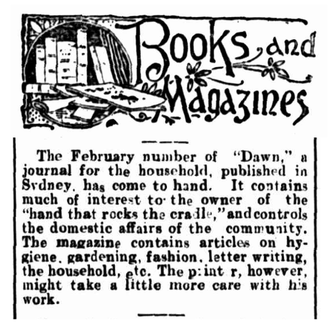 Books and Magazines - Western Mail - 21 February 1093